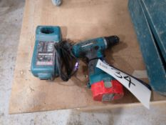 Makita 6280D Drill Driver, 14.4V, with Makita DC14