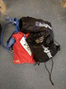 Two Fall Arrest Harnesses, with two helmets (LOT L