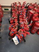 Approx. 35 CO² Fire Extinguishers (LOT LOCATED AT