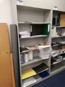 Steel Six Tier Shelving Unit (LOT LOCATED AT 8 WHI