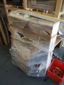 Access Hatch Panel, with integral folding ladder,