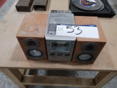 Sony CMT M90 DVD Stereo (LOT LOCATED AT 8 WHITEHOU