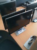 "Dell 24"" Monitor & HP 2010i Monitor (LOT LOCATED A"