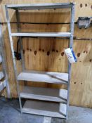 Five Tier Shelf Shelving Unit (LOT LOCATED AT 8 WH