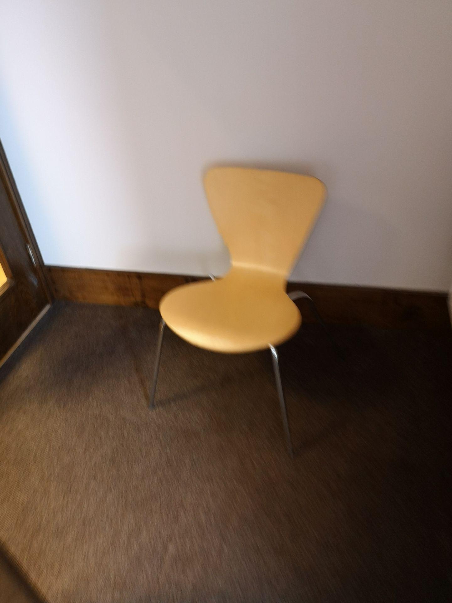 Lot 656 - Furniture Contents of Room, including light oak ve