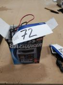 Maypole 6/ 12V 8A Battery Charger (LOT LOCATED AT