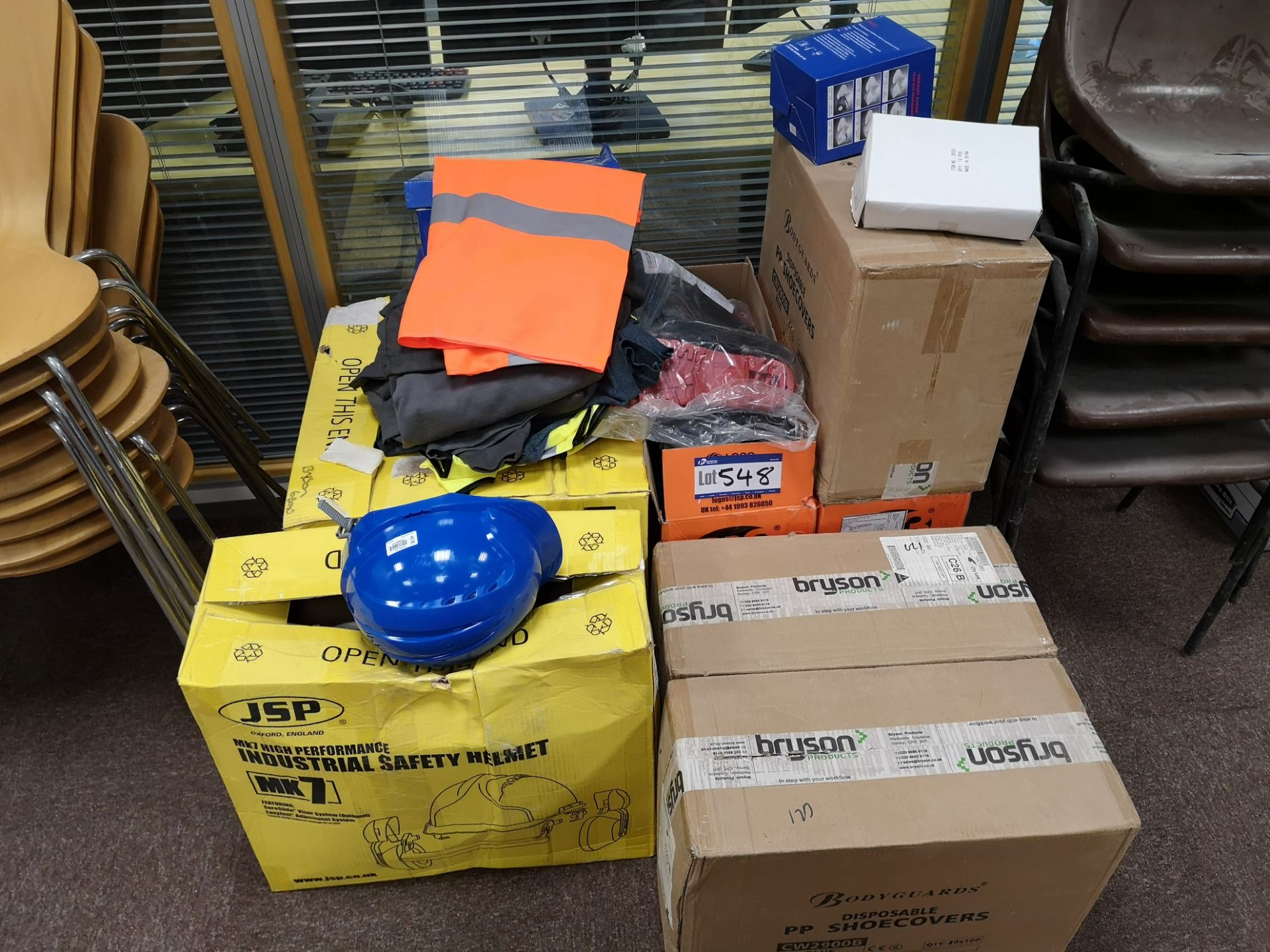 Lot 548 - Quantity of PPE, as set out (LOT LOCATED AT 153 LE