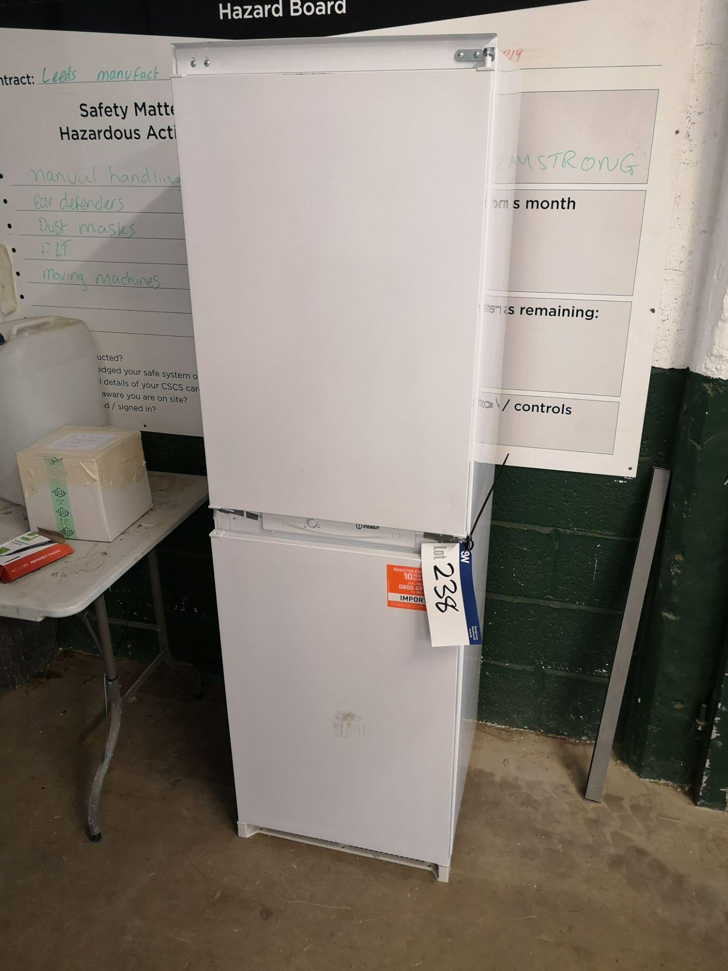 Lot 238 - Indesit Built-in Fridge/ Freezer (LOT LOCATED AT 8