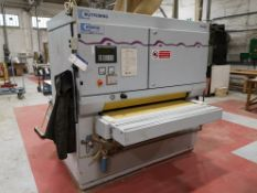 Butfering Optimat SBC 213RC Sandy Twin Drum Sander