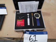 Paint Adhesion Tester (incomplete) (LOT LOCATED AT