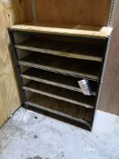 Steel Shelving Unit (LOT LOCATED AT 8 WHITEHOUSE S
