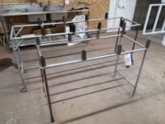 Two Steel Bench Frames (on first floor) (LOT LOCAT