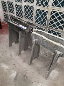 Four Various Painting Trestles (LOT LOCATED AT 8 W