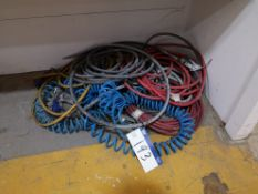 Quantity of Various Pneumatic Hoses (LOT LOCATED A