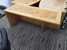 Walnut Inlaid Workstation (LOT LOCATED AT 8 WHITEH