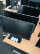 """Dell E2216HV Monitor & Dell 24"""" Monitor (LOT LOCAT"""