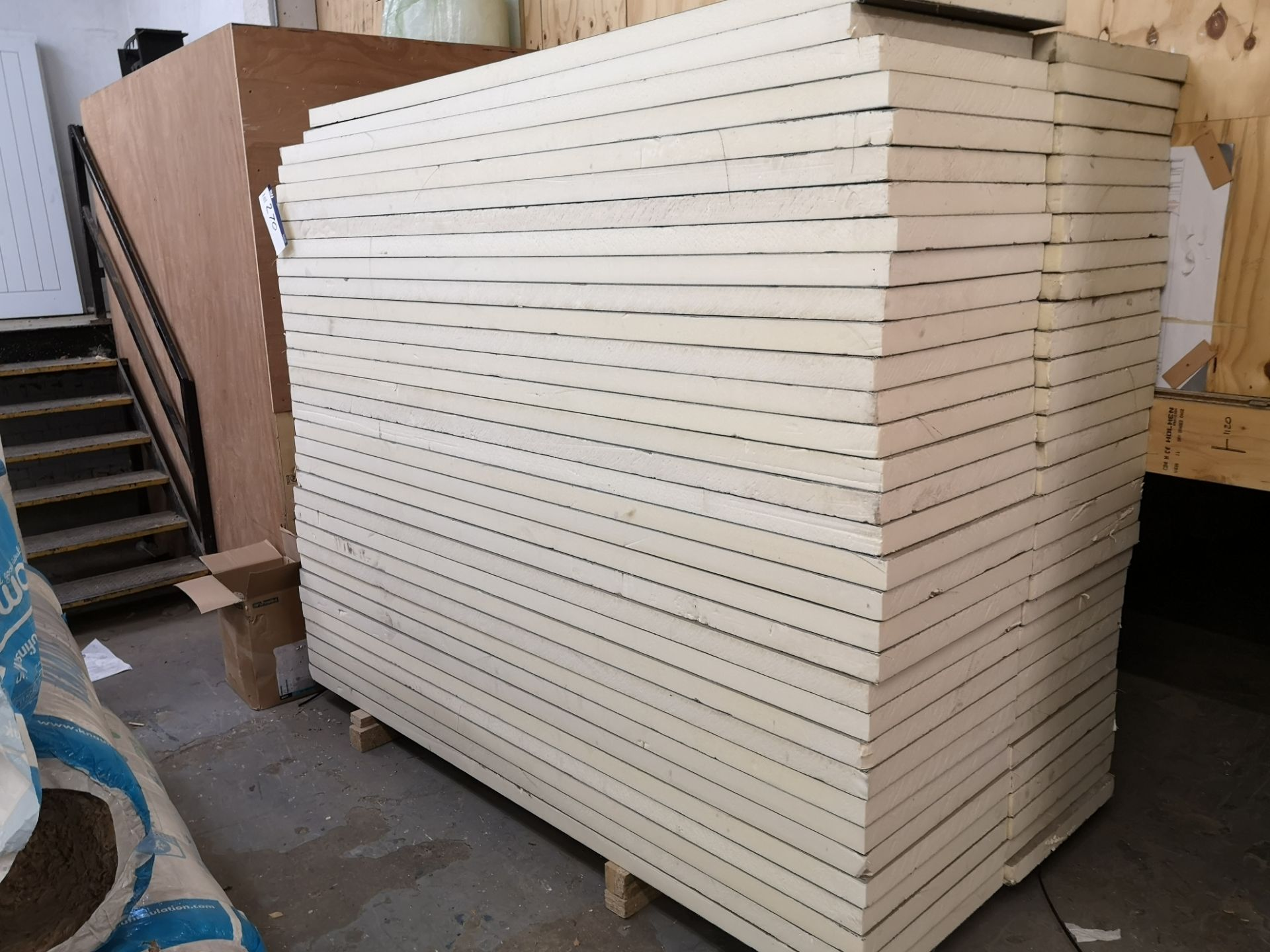 Lot 270 - Quantity of Thermal Construction Boards, approx. 2