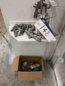 Five Various Spray Guns & Nozzles (LOT LOCATED AT