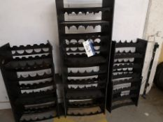 Seven Bottle Racks, Work-in-Progress (LOT LOCATED