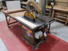 Wadkin Bursgreen BSW20 Panel Saw, machine no. 7915