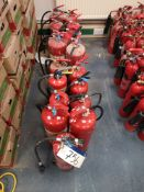 18 Foam Fire Extinguishers (LOT LOCATED AT 153 LEE