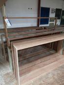 12 Various Hardwood Door Casings (LOT LOCATED AT 8