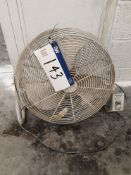 "18"" Floor Fan, 240V (LOT LOCATED AT 8 WHITEHOUSE S"