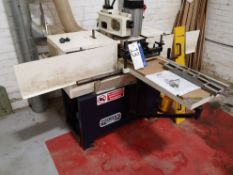 Sedgwick Lafert ET33LAZ-FPS Single Ended Tenoner,