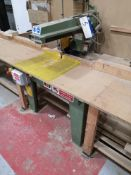 Wadkin BRA 350 Radial Arm Cut Saw, serial no. B887
