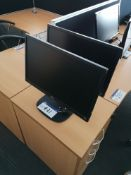 Two LG 22M35 Monitors (LOT LOCATED AT 8 WHITEHOUSE