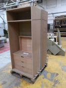 Two Wardrobes, Work-in-Progress (LOT LOCATED AT 8