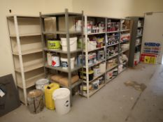 Seven Bays of Steel Shelving, approx. 870mm x 310m