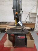 Wadkin Bursgreen BZB Vertical Bandsaw, serial no.