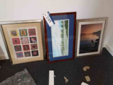 Three Framed Pictures & One Print (LOT LOCATED AT