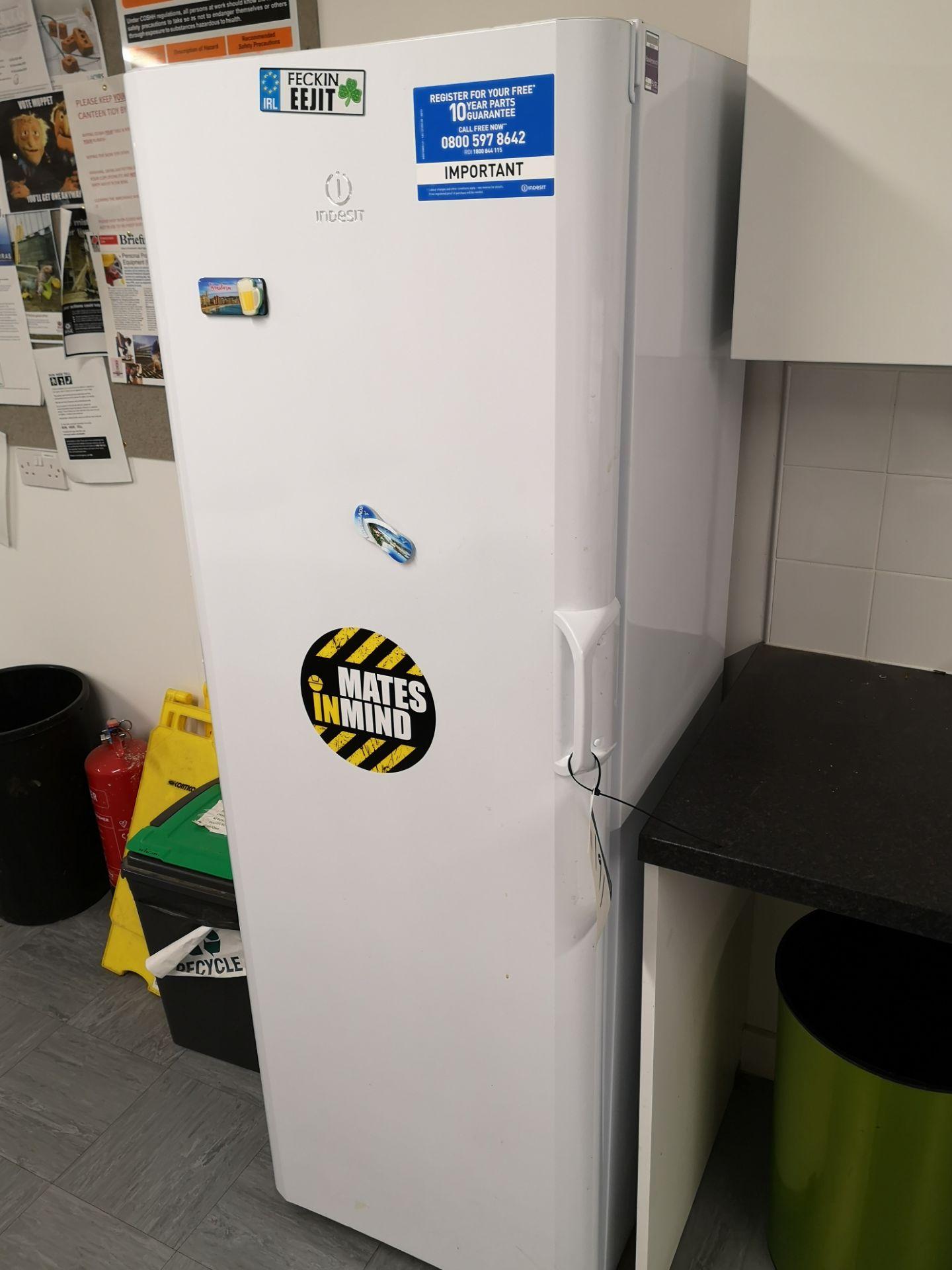 Lot 191 - Indesit 342L Larder Refrigerator (on first floor)