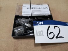 Silverline 6 PCE Air Brush Kit (LOT LOCATED AT 8 W