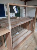 Ten Various Hardwood Door Casings (LOT LOCATED AT