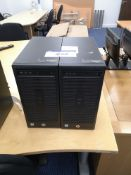 Two HP 280 G2 MT Business Personal Computers (data