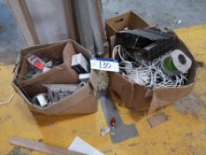 Quantity of Electrical Cable & Junction Boxes, as
