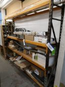 One Bay of Steel Boltless Racking, approx. 3230mm