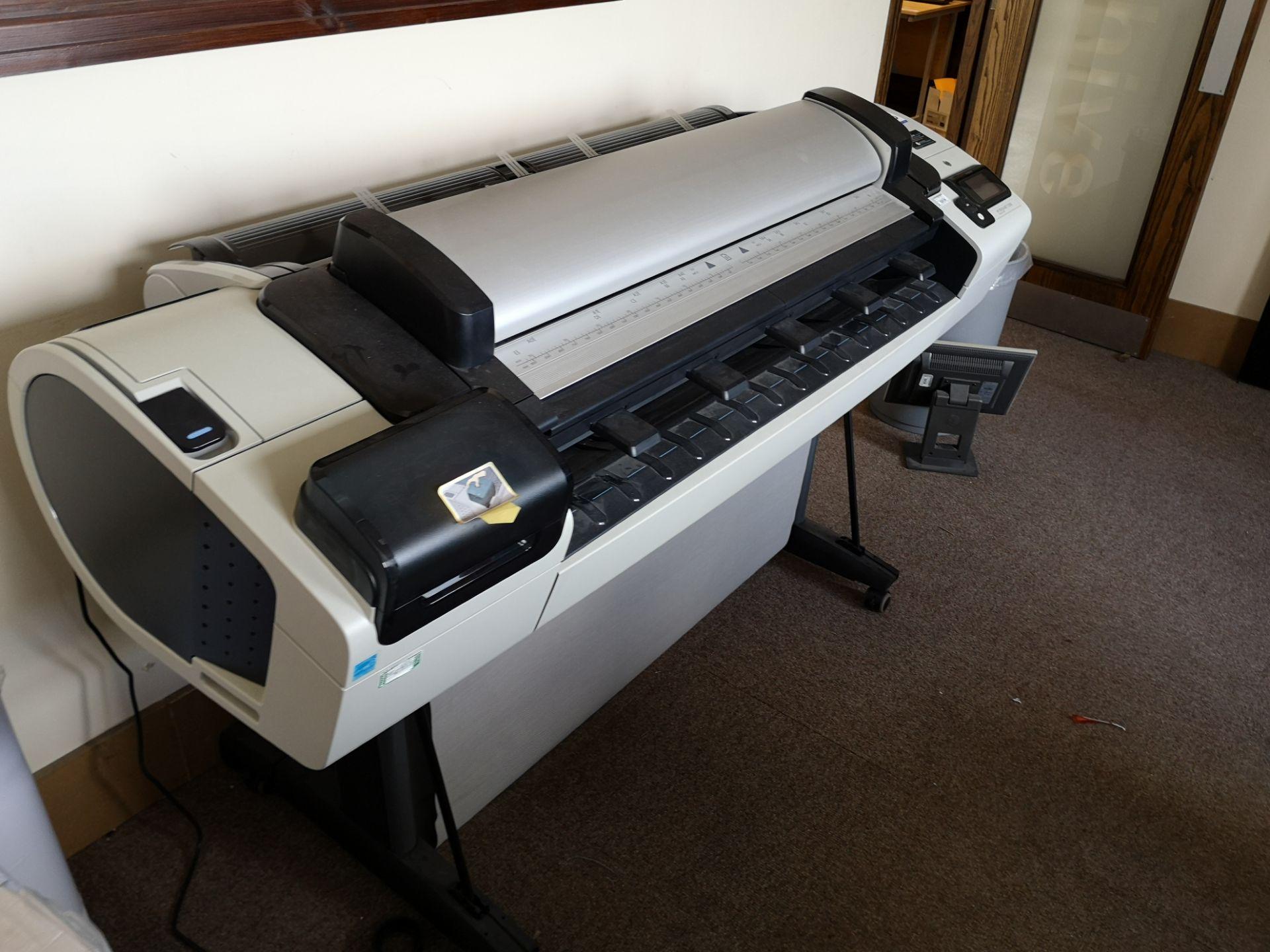Lot 628 - HP DesignJet T2300 Post Script eMFP Plan Printer (