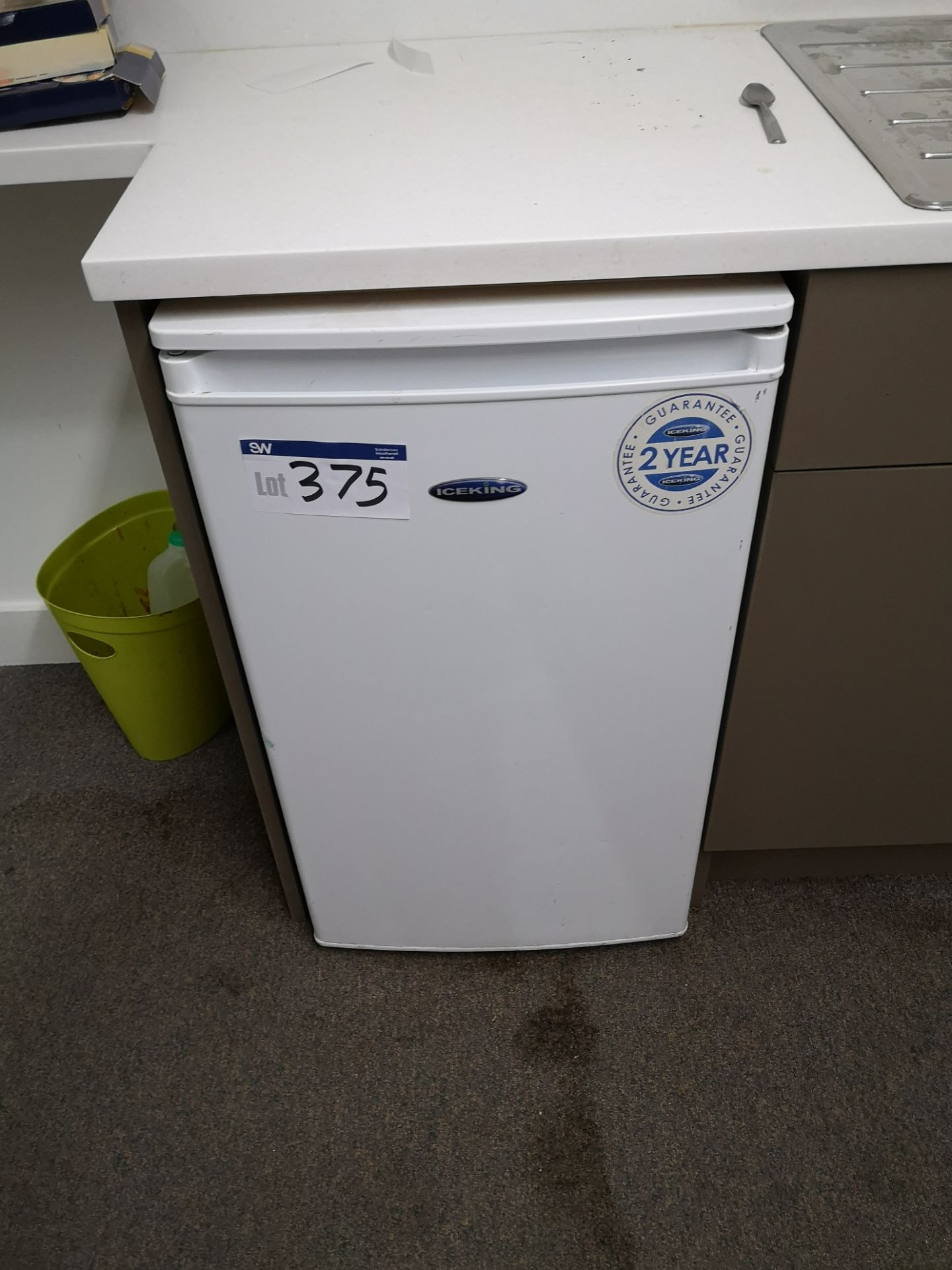 Lot 375 - Ice King Under the Counter Refrigerator (LOT LOCAT
