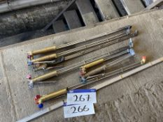 Seven Oxy-Acetylene Torches
