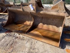 2.7m wide Ditching Bucket, serial no. 38/16, 80mm