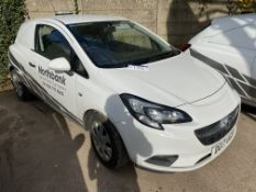 Vauxhall Corsa CDTi S/S DIESEL CAR DERIVED VAN, re