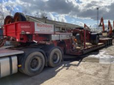 Nooteboom Euro-83-04 FOUR AXLE LOW LOADER TRAILER,