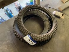 Three Bicycle Tyres
