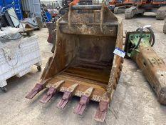 Geith 1.25m wide Rock Bucket, serial no. 40/21, 80