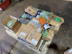 Assorted Doosan Parts, including DX300 cab mounts,