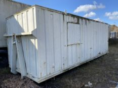 RORO PORTABLE BUILDING, with fitted Wilson P16.5P2
